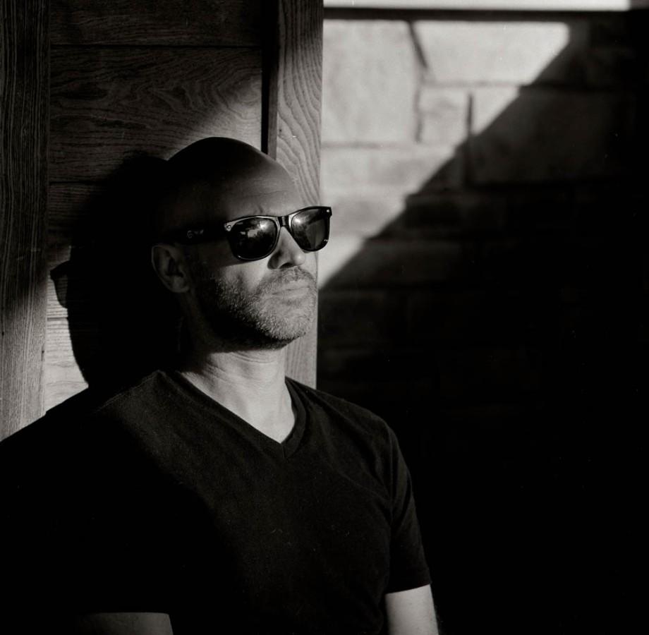 Portrait of a man wearing sunglasses